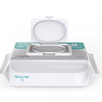 Portable alcohol-free wipes OEM Pack SET antibacterial wet wipes