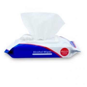 10pcs one bag spunlace non-woven no Alcohol wet wipes