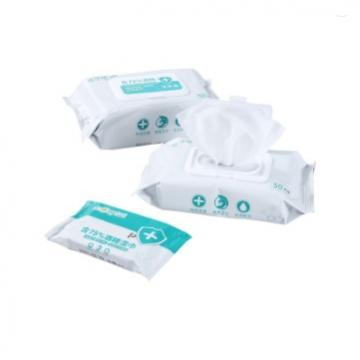 Customized Packet Individual Sachet Antibacterial Disinfectant Alcohol Wet Wipes Tissue
