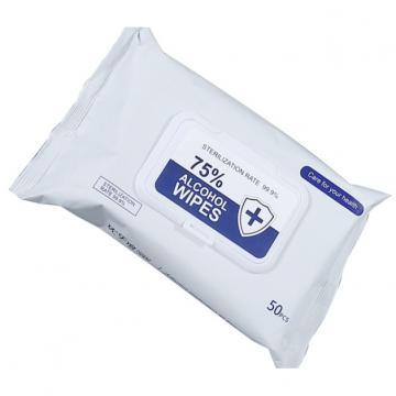 Custom packaging 70% isopropyl alcohol antiseptic wipes