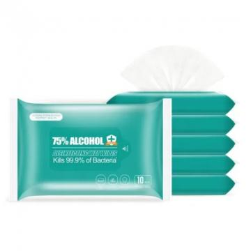 OEM wholesale household multi-purpose wet disposable economic cleaning 70% isopropyl alcohol antiseptic wipes