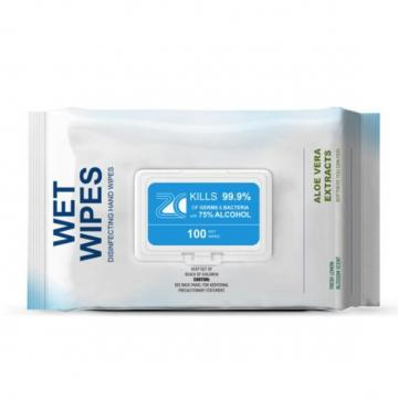 Hot Sale Customized Cheap Alcohol Free Wet Wipes Biodegradable Dog Cleaning Ear Wipe Wipes