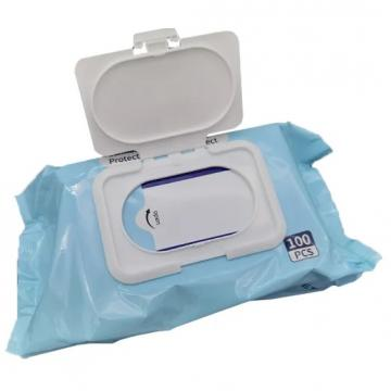 Xiaokang 50PCS Sanitizer Isopropyl Disinfecting Surface Cleaning Sanitizing 75% Alcohol Disinfectant Wipe