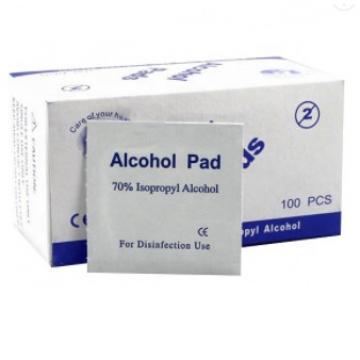 Alcohol Prep Pad with Big Size Alcohol Wipes 6X6cm 50PCS/Box