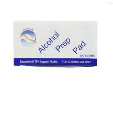 Waketm Pre Injection FDA Bd Wholesale Disinfectant Price Antibacterial Wipes 70 Isopropyl Disposable Swab Prep Alcohol Pad