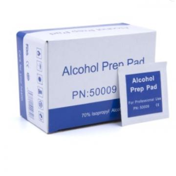 in Stock Alcohol Wet Wipes 70% Non Woven Disposable Isopropyl Alcohol Prep Pads