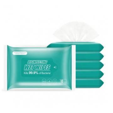 Free Sample Dry Disposable Wipe with Containers Eco Friendly Flushable and Biodegradable Super Soft to Skin
