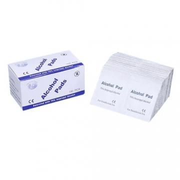 Alcohol Prep Pad Packaging Aluminum Foil Paper in Rolls