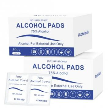 Extra Large Medical Rubbing Alcohol Prep Pads FDA