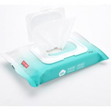 Wet Wipes Bottle Muti-purpose75% Alcohol Wipes Organic Antibacterial Disinfectant Wet Wipes