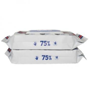 Single pack customized design 70% Isopropyl Hospital Wet Wipes