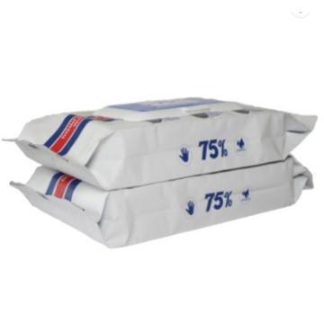 99% Sanitizer Custom Medical Sterile 75% Isopropyl Alcohol Antiseptic Disinfecting Wet Wipe for Hospital 10-80PCS
