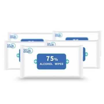 OEM factory Hot Sale Wholesale Antibacterial Adult Baby Flushable Wet Wipe