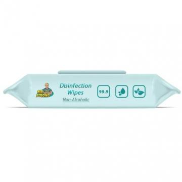 Spunlace Wet Wipes Anti Bacterial Cleansing Wipes
