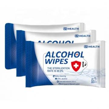 Low price 75% Alcohol Medical Antibacterial Surface Disinfection Wet Wipes