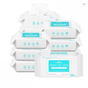 Patient Bed Bath Wet Cleaning Wipes with 75% Alcohol